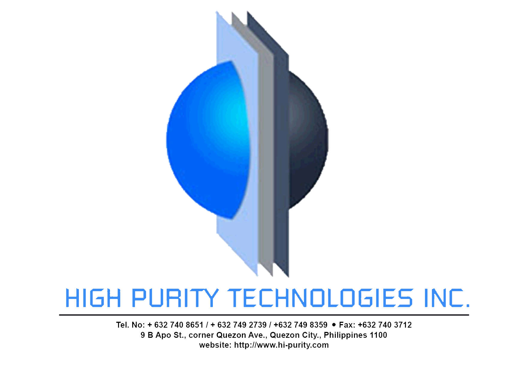 Products and Services - High Purity Technologies Inc